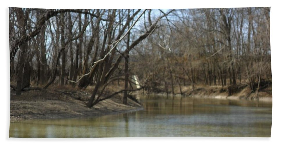 Water Beach Towel featuring the photograph Sugar Creek by Darrin Ingram