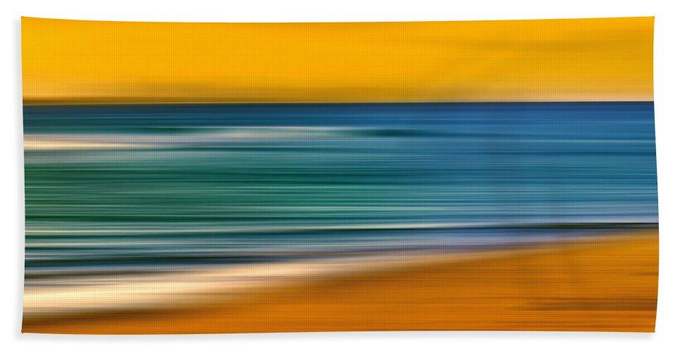Landscape Beach Towel featuring the photograph Summer Days by Az Jackson