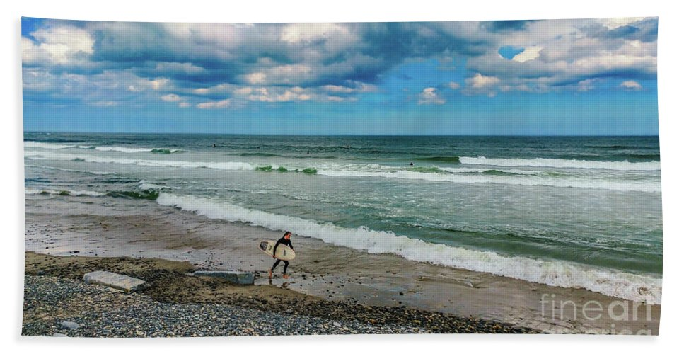 Ocean Beach Towel featuring the photograph Summer Fun by Claudia M Photography
