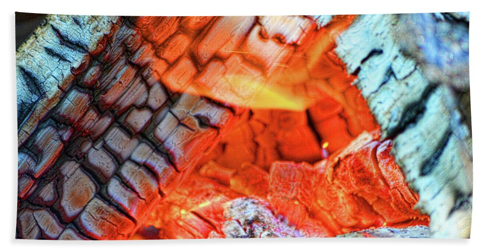 Fire Beach Towel featuring the photograph Summer Nights by Traci Cottingham