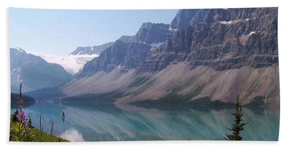 Summer Reflections Beach Towel featuring the photograph Summer Reflections by Greg Hammond
