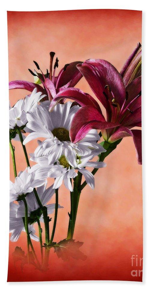 Botanical Beach Towel featuring the photograph Summer Wild Flowers by Ed Churchill