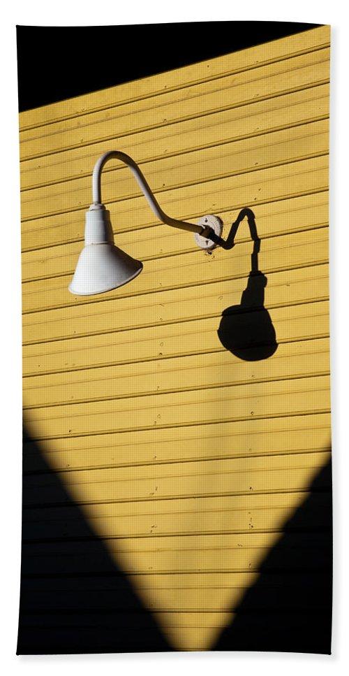 Sunlamp Beach Towel featuring the photograph Sun Lamp by Dave Bowman