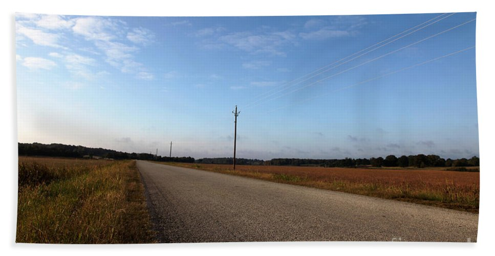 Roads Beach Towel featuring the photograph Sunday Drive Series by Amanda Barcon