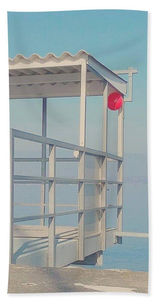 Beach Towel featuring the photograph Sunday by Sebastien Braillon
