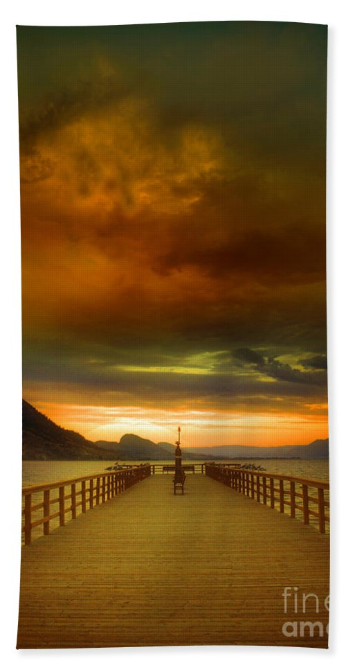 Clouds Beach Towel featuring the photograph Sunday Storm Clouds by Tara Turner