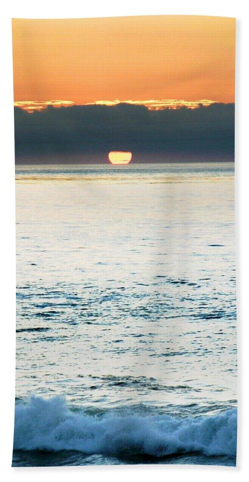 Sunset Beach Towel featuring the photograph Sundown by Anthony Jones