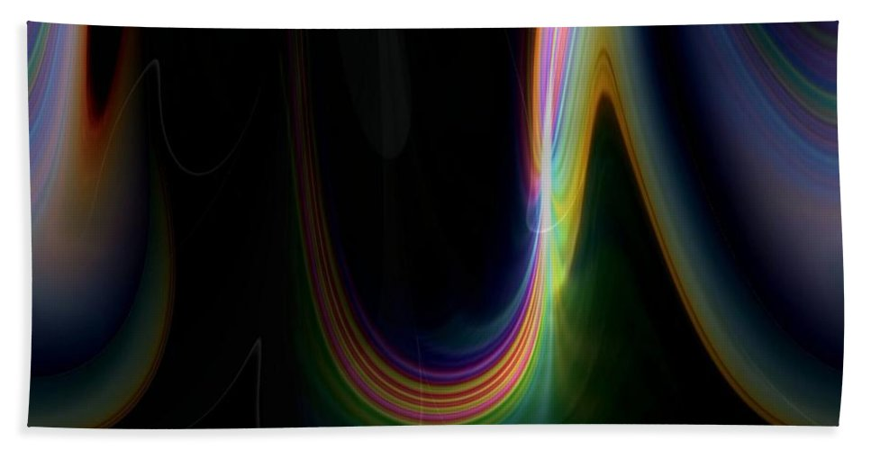 Sunrise Beach Towel featuring the photograph Sunrise Abstract 3 by Tim Allen