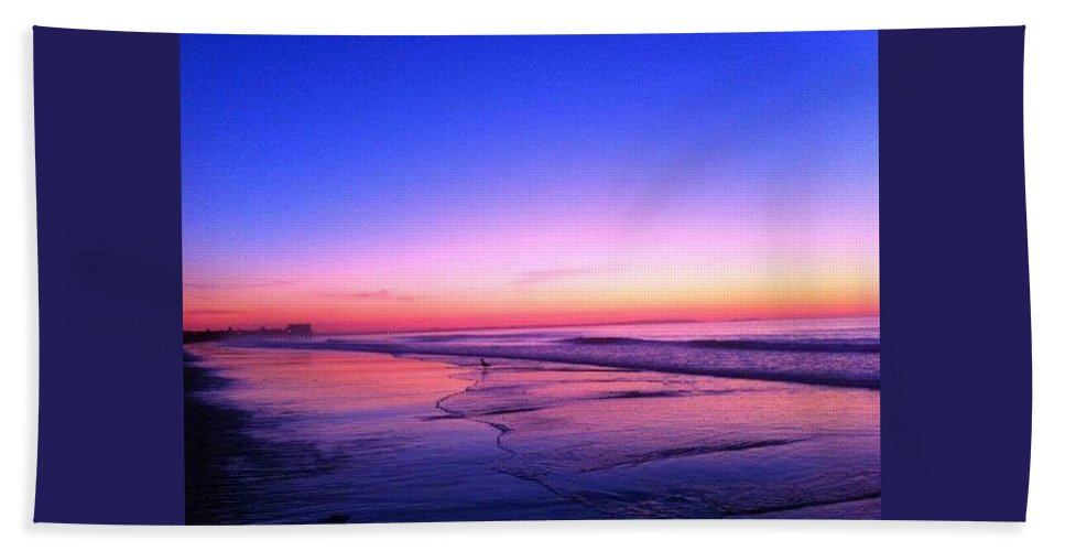 Sunrise.sunset.beautiful. Ben Gonzalez. Beach Towel featuring the photograph Sunrise by Ben Gonzalez