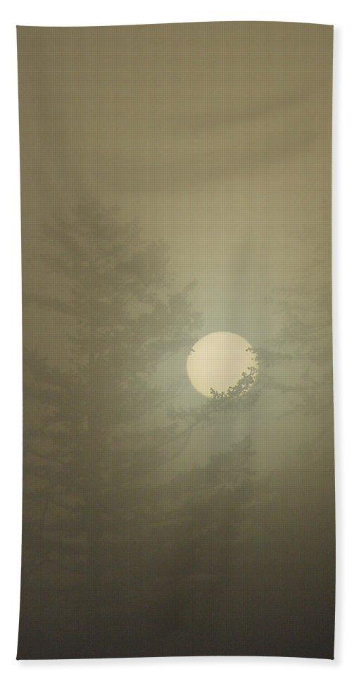 Sun Beach Towel featuring the photograph Sunrise Fogged - 2 by Shirley Heyn