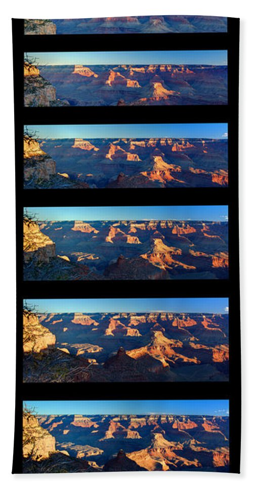 Grand Canyon Beach Towel featuring the photograph Sunrise Over Grand Canyon by Paul Cannon