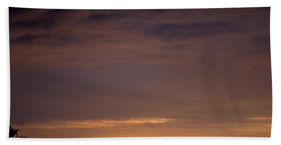 Landscape Beach Towel featuring the photograph Sunset 3 by Lee Santa