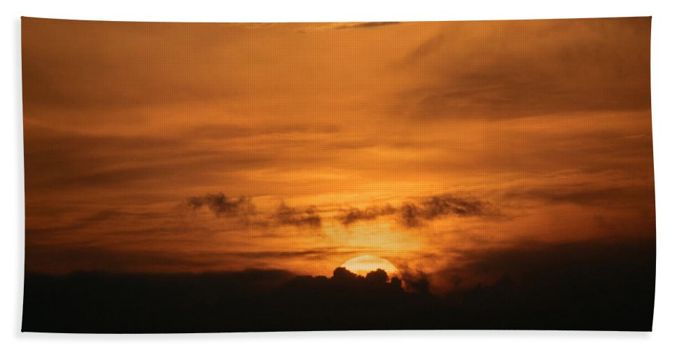 Ahuachapan Beach Towel featuring the photograph Sunset Ahuachapan 36 by Totto Ponce