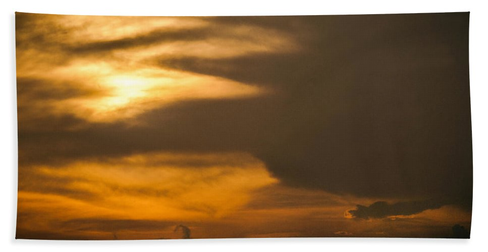 Ahuachapan Beach Towel featuring the photograph Sunset Ahuachapan 8 by Totto Ponce