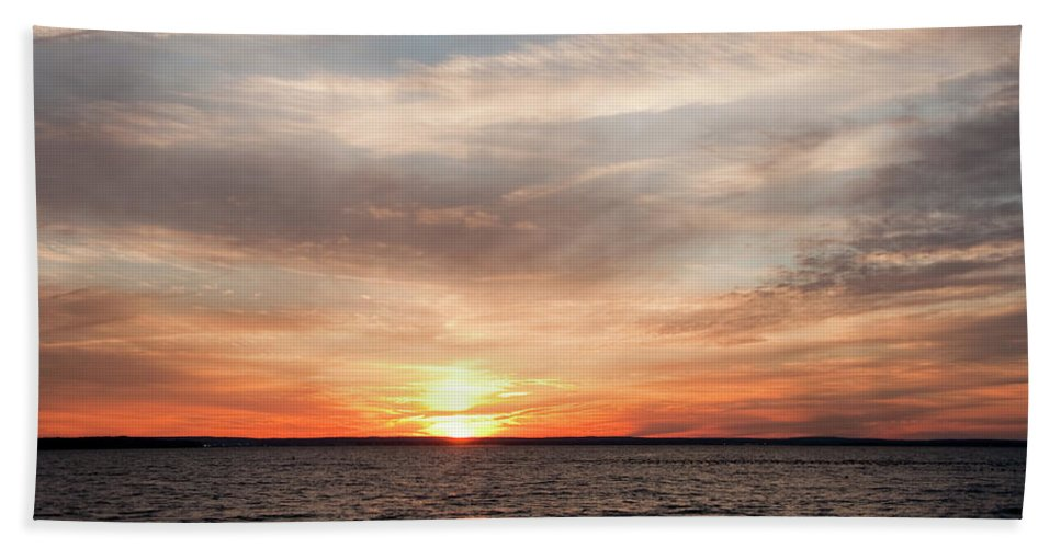 Sunset Beach Towel featuring the photograph Sunset Gate 17 2 by Steven Natanson