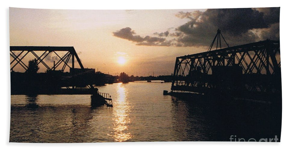 Superior Beach Towel featuring the photograph Sunset In Superior Wi by Tommy Anderson