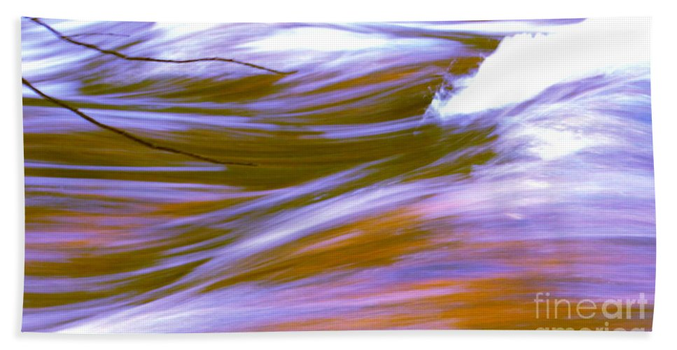 Water Beach Towel featuring the photograph Surging Currents by Sybil Staples