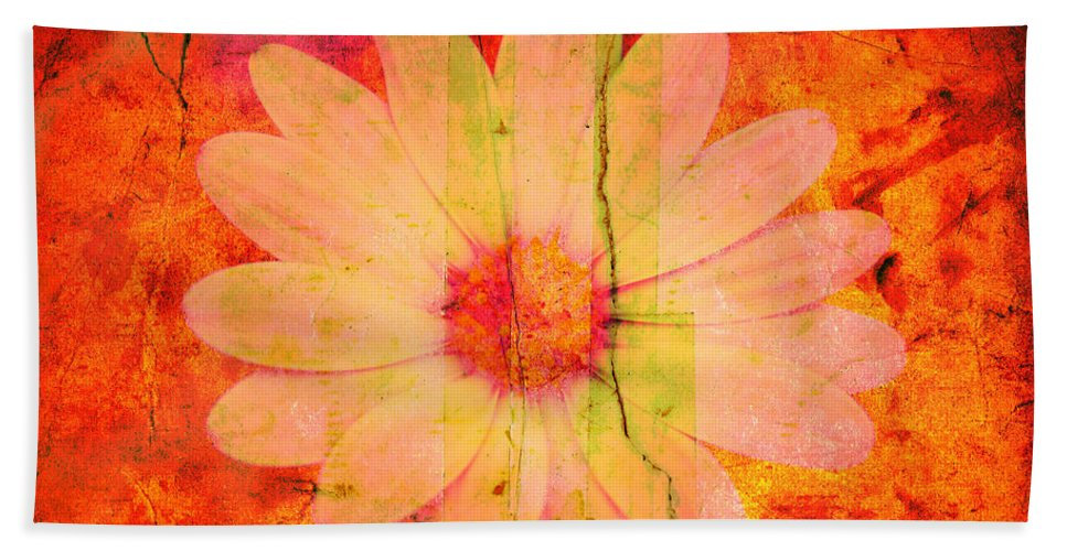 Flower Beach Towel featuring the photograph Surprise Me by Susanne Van Hulst