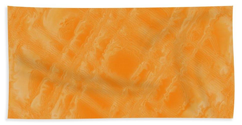Digital Art Beach Towel featuring the digital art Sweetly Industrious by Pharris Art