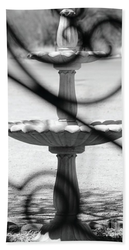 Wrought Beach Towel featuring the photograph Swirls by Alycia Christine