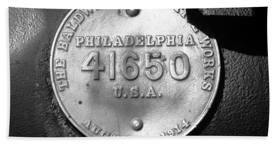 Baldwin Locomotive Works Philadelphia Beach Towel featuring the photograph Symbol Of Pride by David Lee Thompson