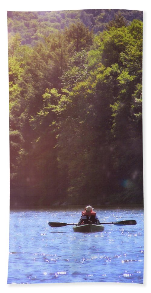 River Beach Sheet featuring the photograph Take Me There by JAMART Photography