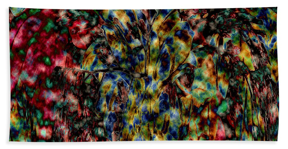 Abstract Beach Towel featuring the photograph Take Me To A Place So Holy by Elizabeth Tillar