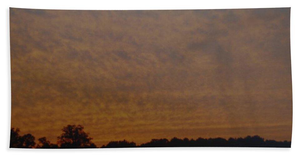 Texas Beach Towel featuring the photograph Texas Sky by Rob Hans