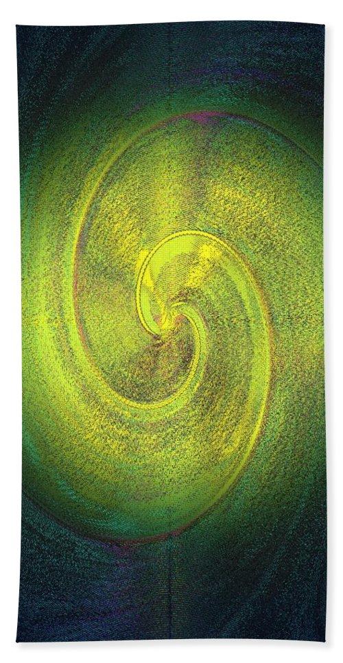 Grossdrucke Beach Towel featuring the digital art The Alternate Idea by Helmut Rottler