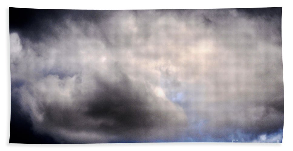 Clay Beach Towel featuring the photograph The Beauty Of Clouds by Clayton Bruster