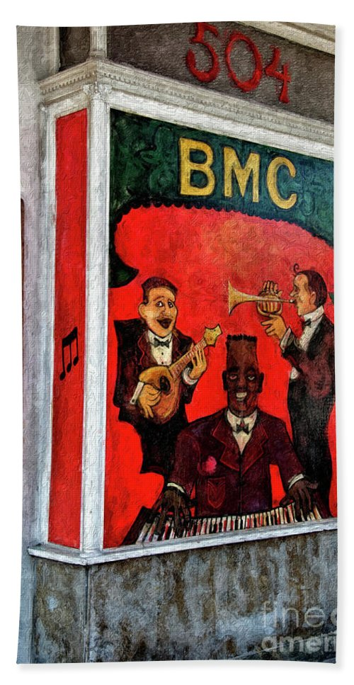 Jazz Beach Towel featuring the photograph The Bmc by Kathleen K Parker