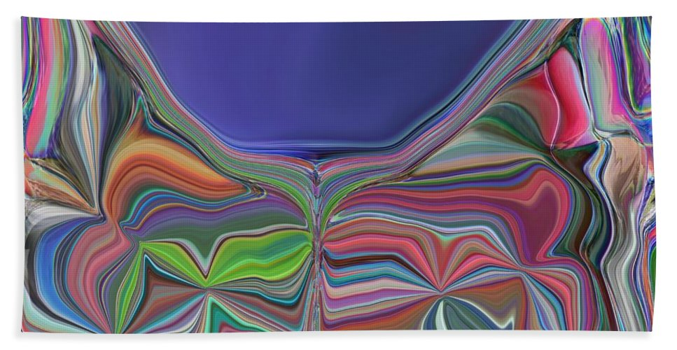 Chalice Beach Towel featuring the digital art The Chalice by Tim Allen
