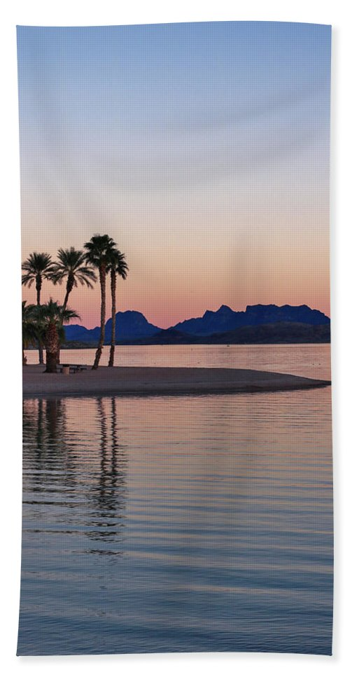 Channel Beach Towel featuring the photograph The Channel by Debra Farrey