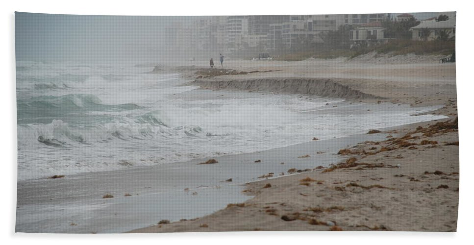 Water Beach Towel featuring the photograph The Coast by Rob Hans