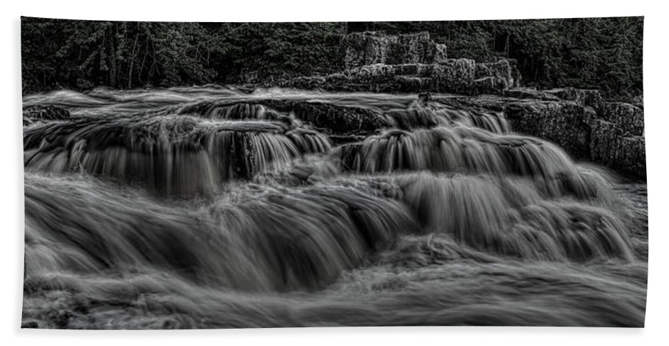 Dale Kauzlaric Beach Towel featuring the photograph The Dells Of The Eau Claire Panoramic by Dale Kauzlaric