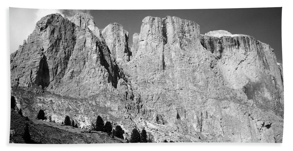 Europe Beach Towel featuring the photograph The Dolomites by Juergen Weiss