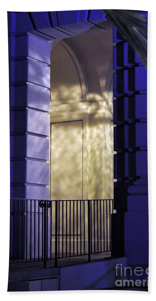 Clay Beach Towel featuring the photograph The Door by Clayton Bruster