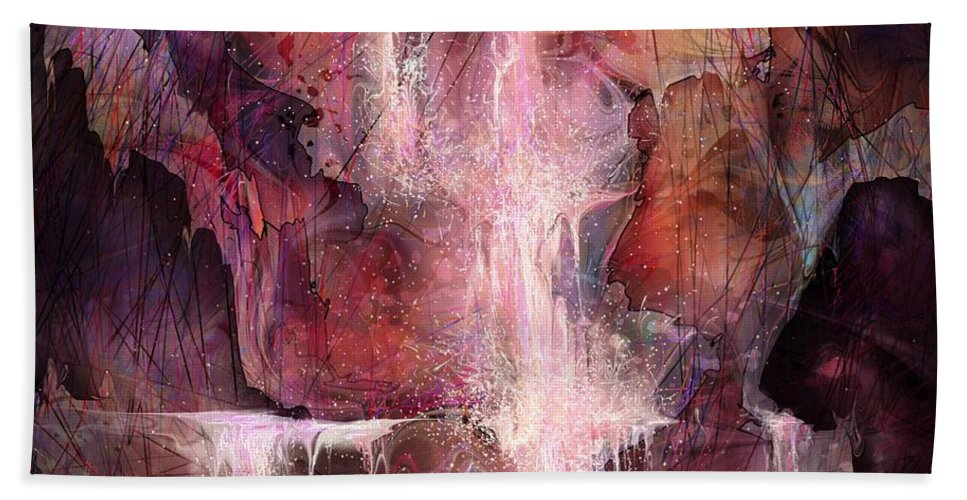 Enchanted Beach Towel featuring the painting The Enchanted Dream by William Russell Nowicki