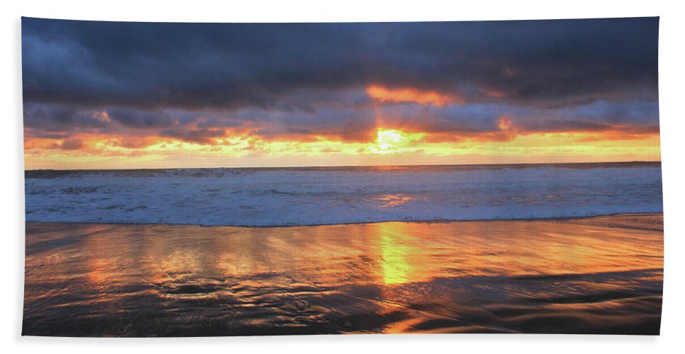 California Beach Towel featuring the photograph The Essence by Flat Owl Photo