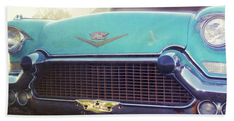 Elvis Beach Sheet featuring the photograph The Famous 57 Seville by JAMART Photography