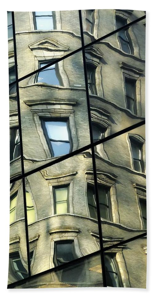Architecture Beach Towel featuring the photograph The Funhouse by RC DeWinter