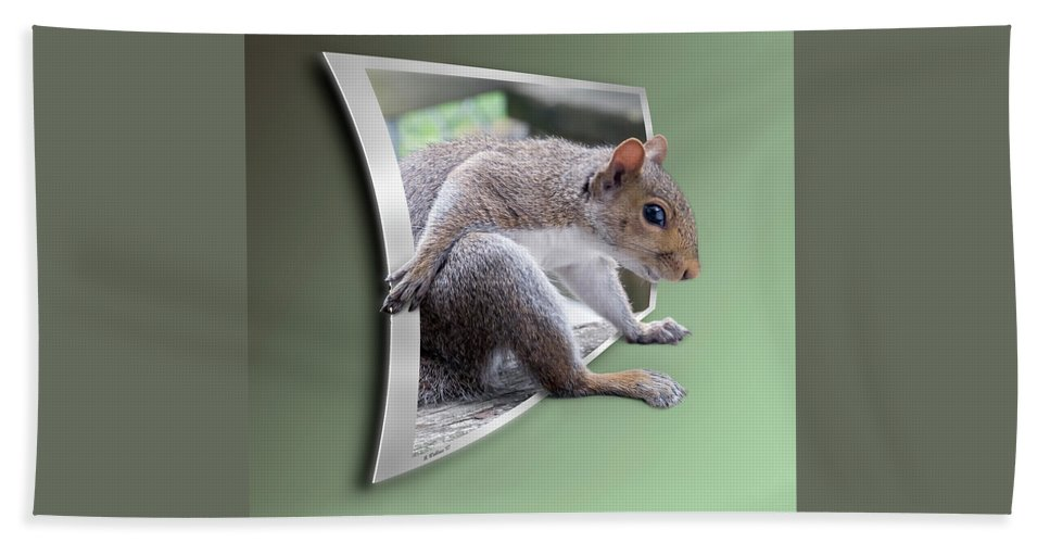2d Beach Towel featuring the photograph The Great Escape by Brian Wallace