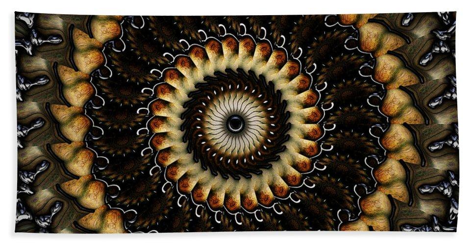 Earth Beach Towel featuring the digital art The Grove by Robert Orinski