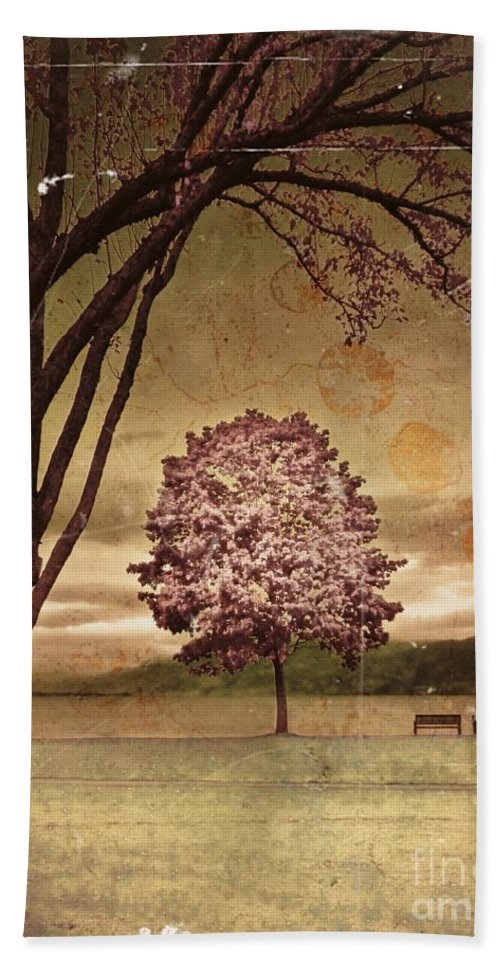 Trees Beach Towel featuring the photograph The Guardian by Tara Turner