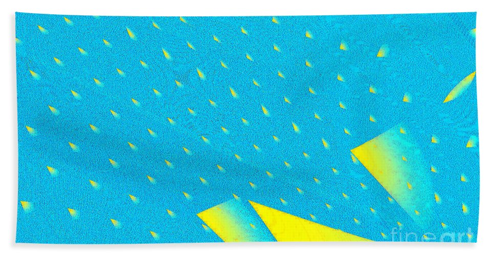 Clay Beach Towel featuring the digital art The Illusion by Clayton Bruster
