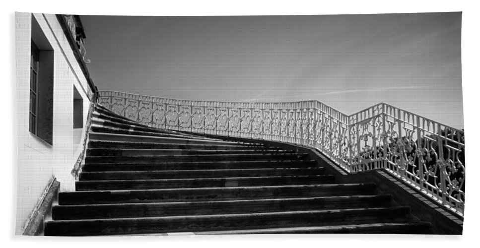 Scenery Beach Towel featuring the photograph The Kings Steps by Dorit Fuhg