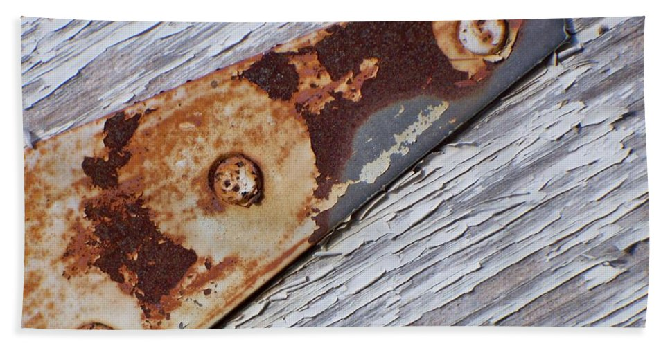 Latch Beach Towel featuring the photograph The Latch by Betty Northcutt