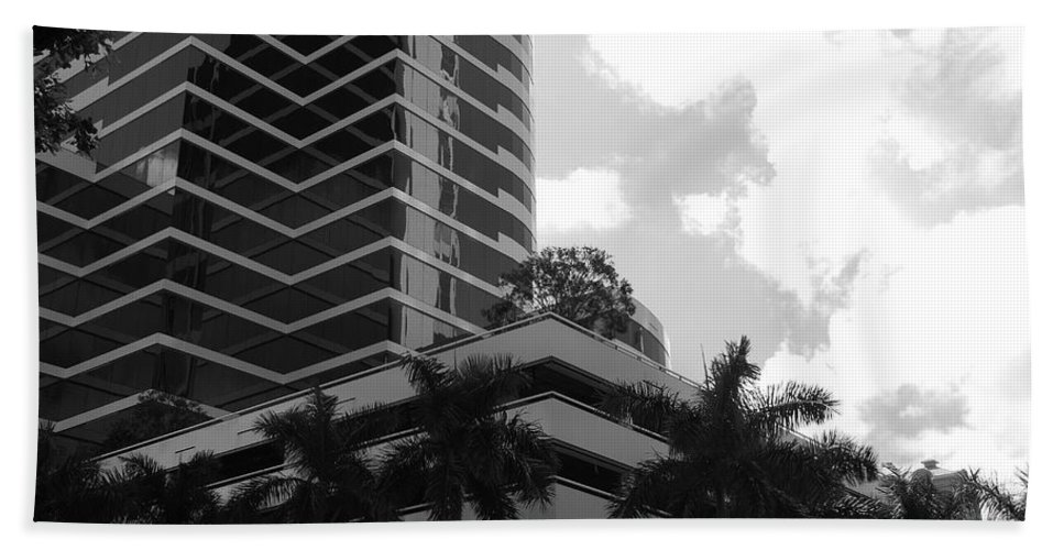Architecture Beach Towel featuring the photograph The Place To Be by Rob Hans