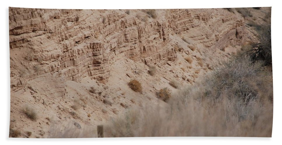 Desert Beach Towel featuring the photograph The Rocks by Rob Hans