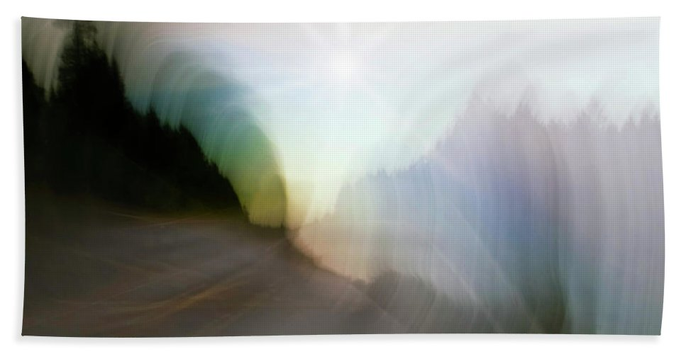 Finnland Beach Towel featuring the photograph The Street Of Fantasy by Heiko Koehrer-Wagner